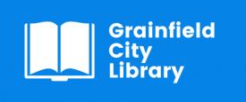Grainfield City Library Logo
